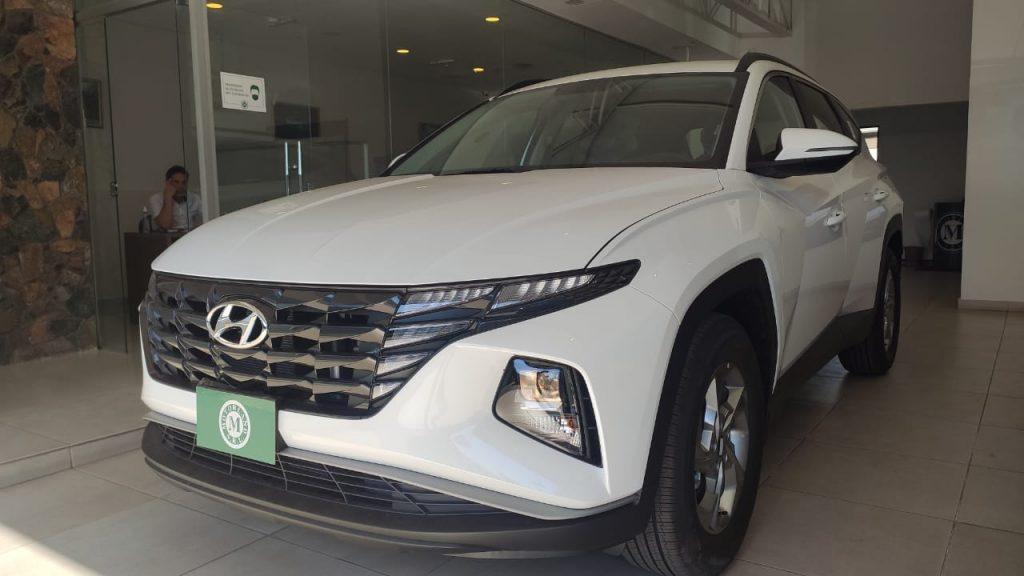 HYUNDAI NEW TUCSON GL 2022 BLANCO